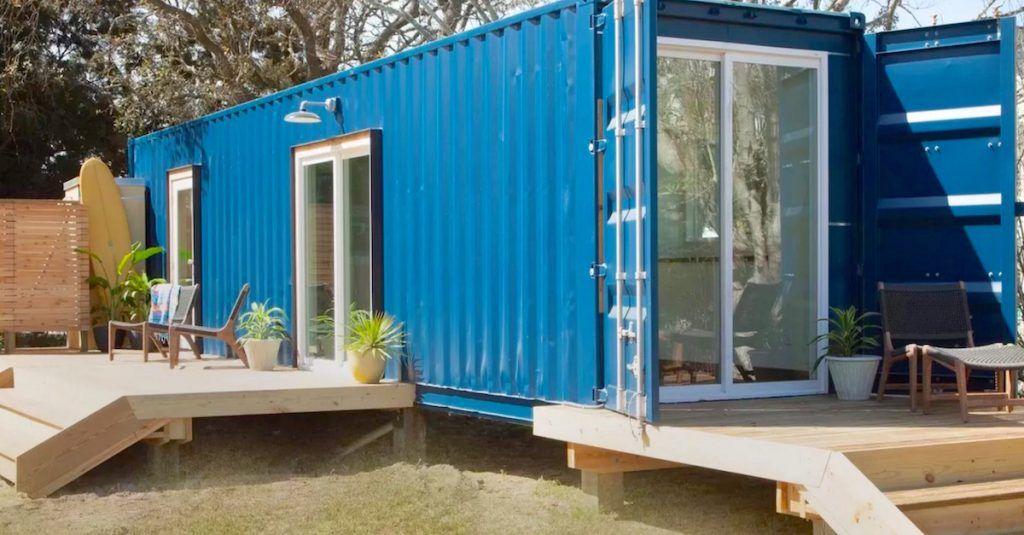 Ella construyó una casa en un contenedor… su interior es realmente IMPRESIONANTE
