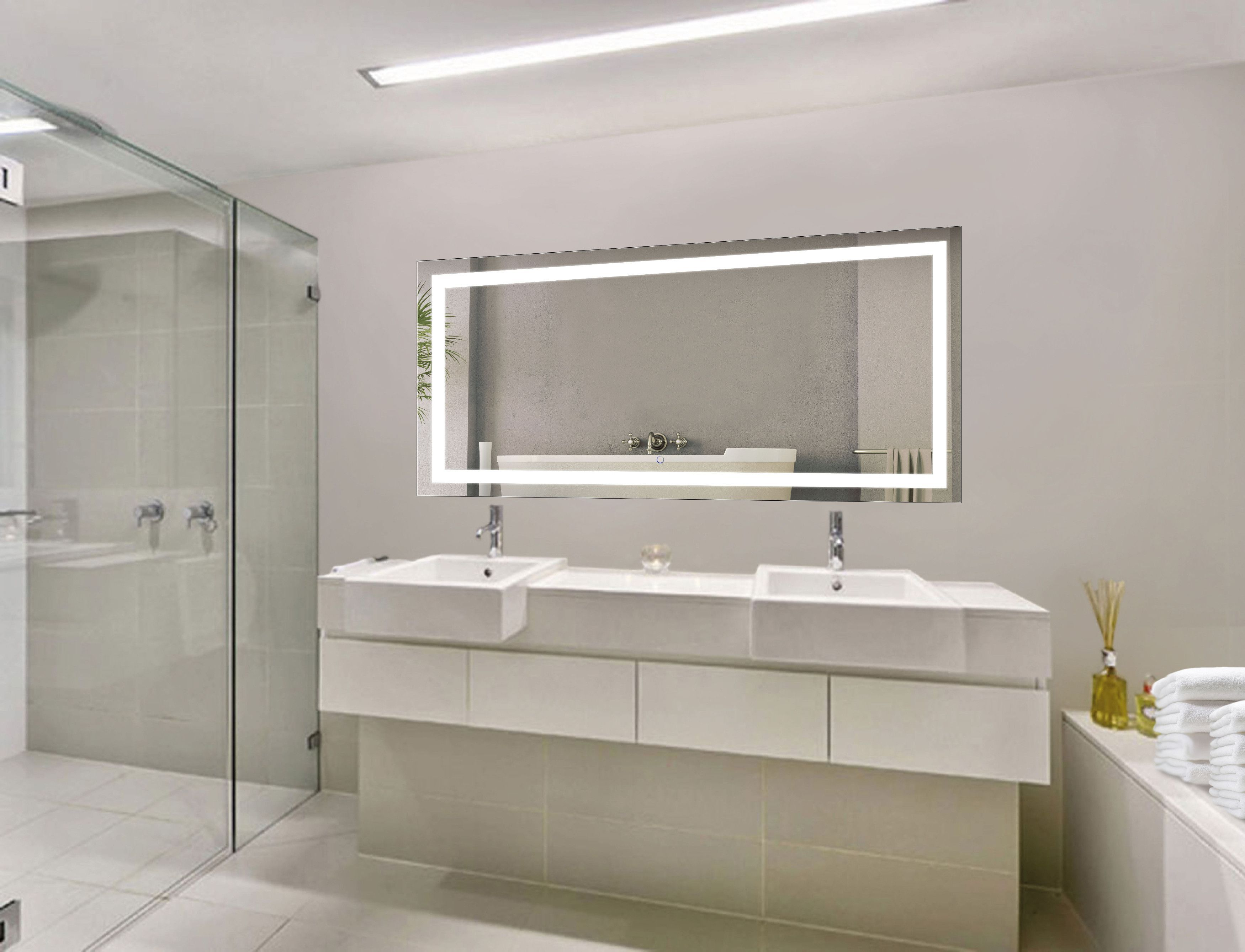 Design your bathroom around the commanding focal point of the icon