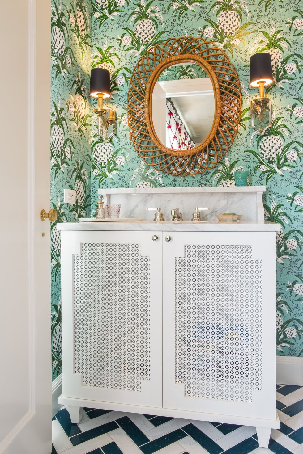 These Whimsical Powder Rooms Are Full of Design
