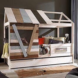 kleine baumhausvariante. (mit Bildern) Betten für kinder