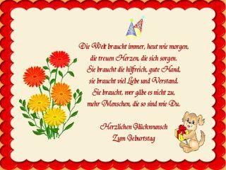 Ich Wunsche Dir Viel Gluck Zum Geburtstag Kleine Spruche Zum