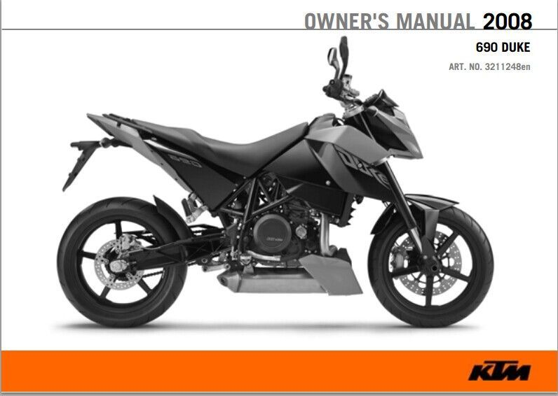 2008 Ktm 690 Duke Service Repair Manual Pdf Download Ktm 690 Ktm Motorcycle
