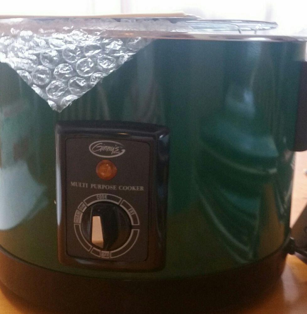 Uncategorized Kitchen Appliances Ebay ginnys multi purpose deep fryer model 661219 home garden kitchen dining