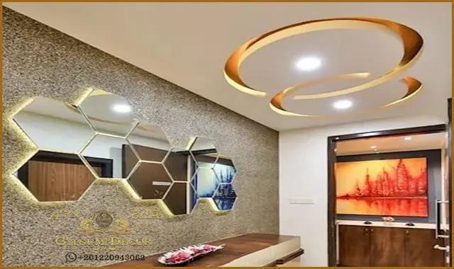 اسقف جبس بورد للصالات In 2021 Modern Decor False Ceiling Interior Design