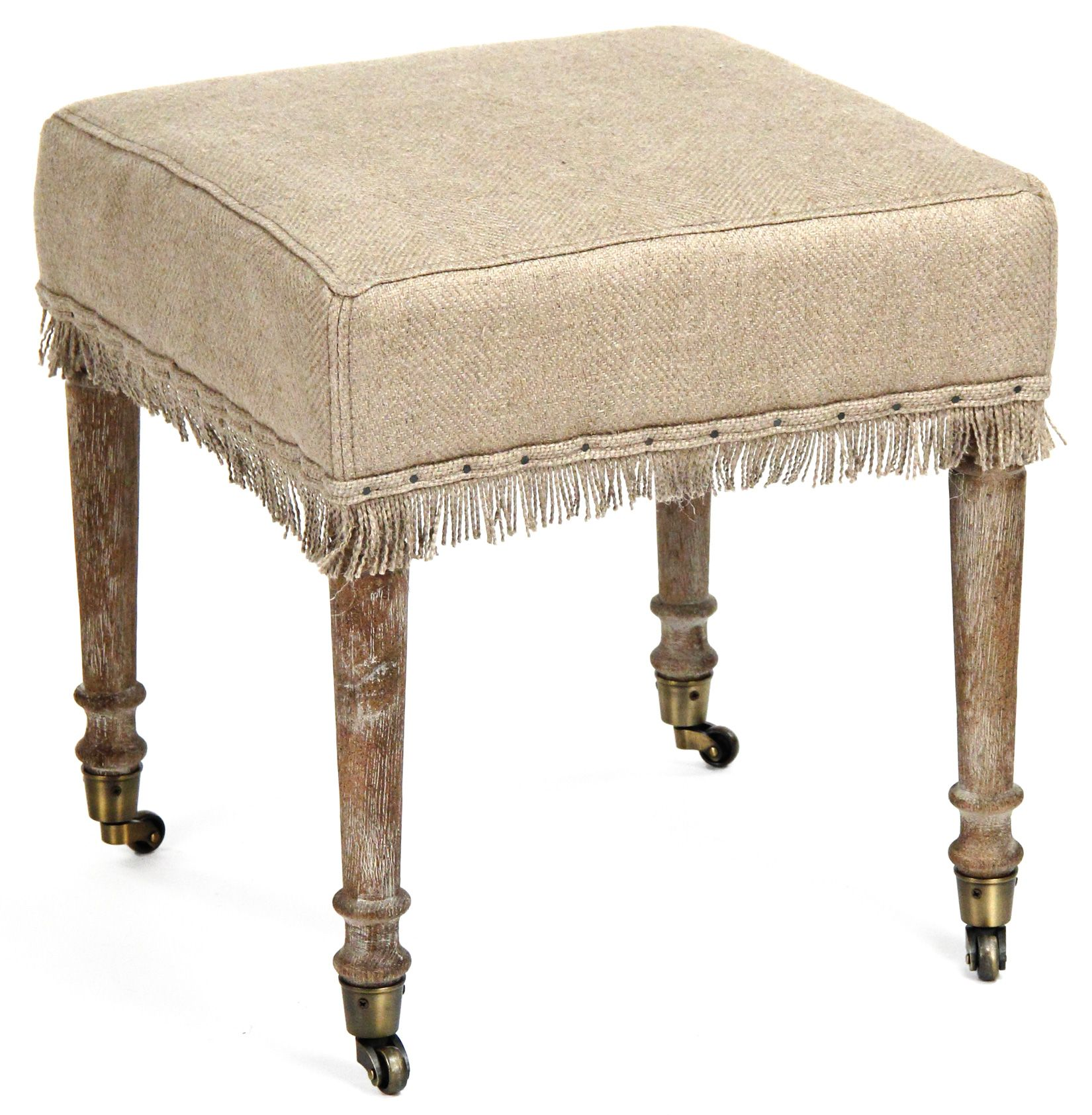 The Best Farmhouse French Ottomans | Workshop bench, French style ...