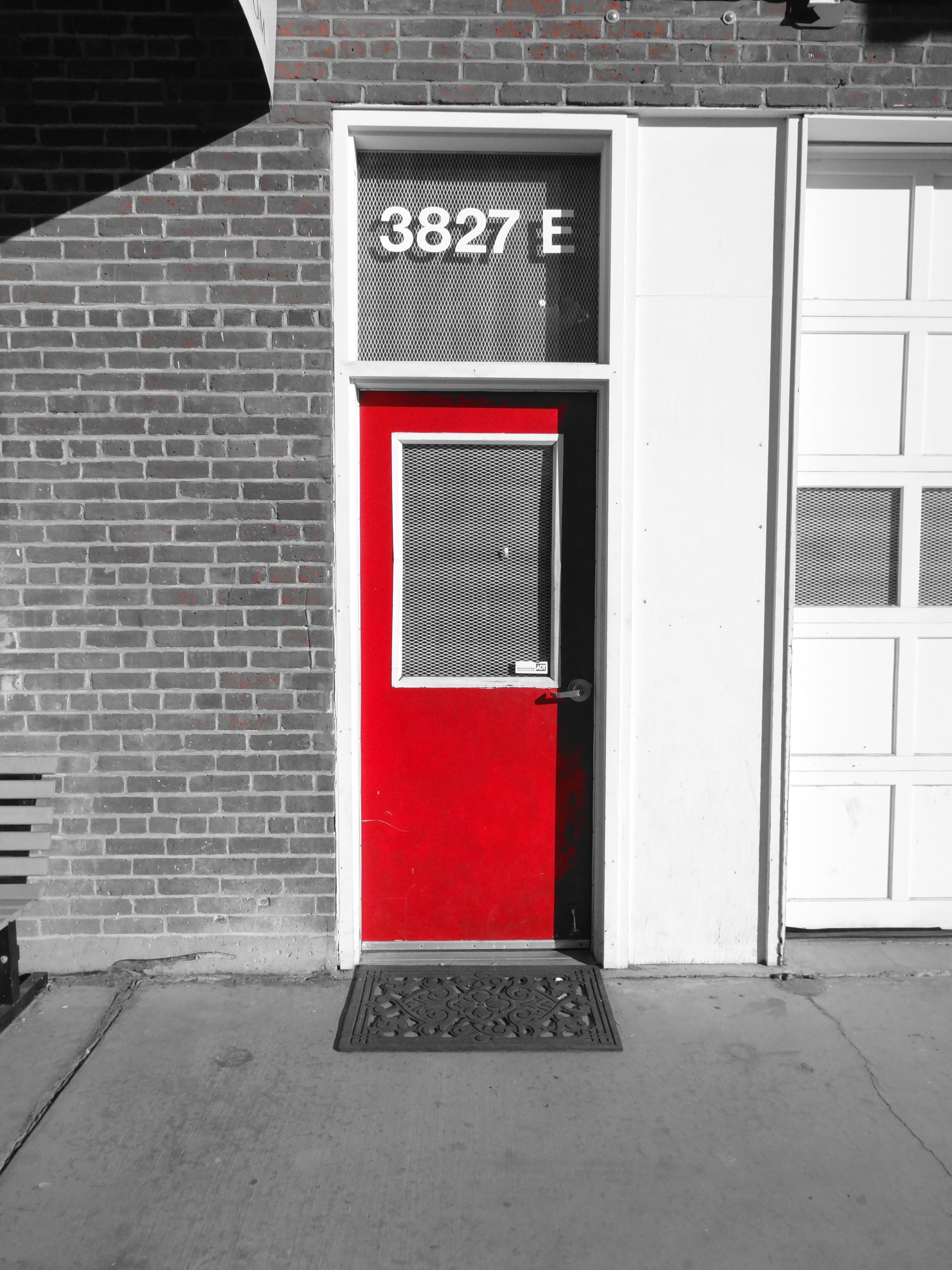 Find Our Red Door   Find Your New Fireplace!