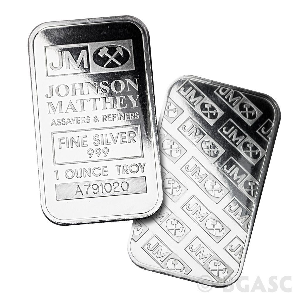 Monster Box Of 1 Oz Johnson Matthey Silver Bars 999 Fine Silver Bullion Mint Sealed 500 Bars One Of Our Mos Silver Bars Gold Bullion Bars Silver Bullion