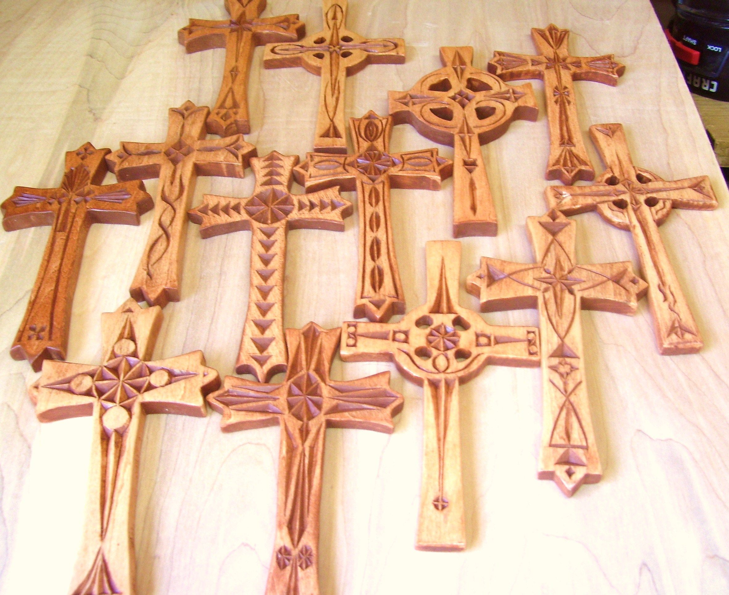 Chip carved crosses carvings pinterest carving