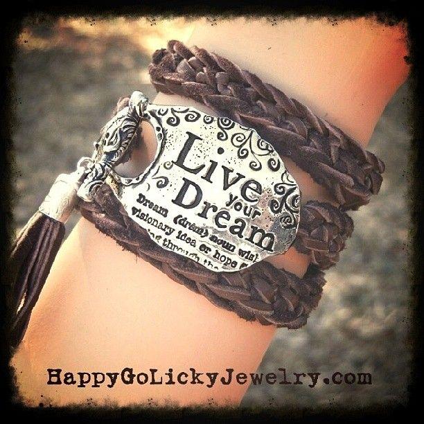 The Best Boho Chic Fashion Trend Jewelry | Custom Leather Wrap Bracelets by HappyGoLicky $125