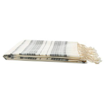 Check out this item at One Kings Lane! Light Weight Stripe Sarong, White