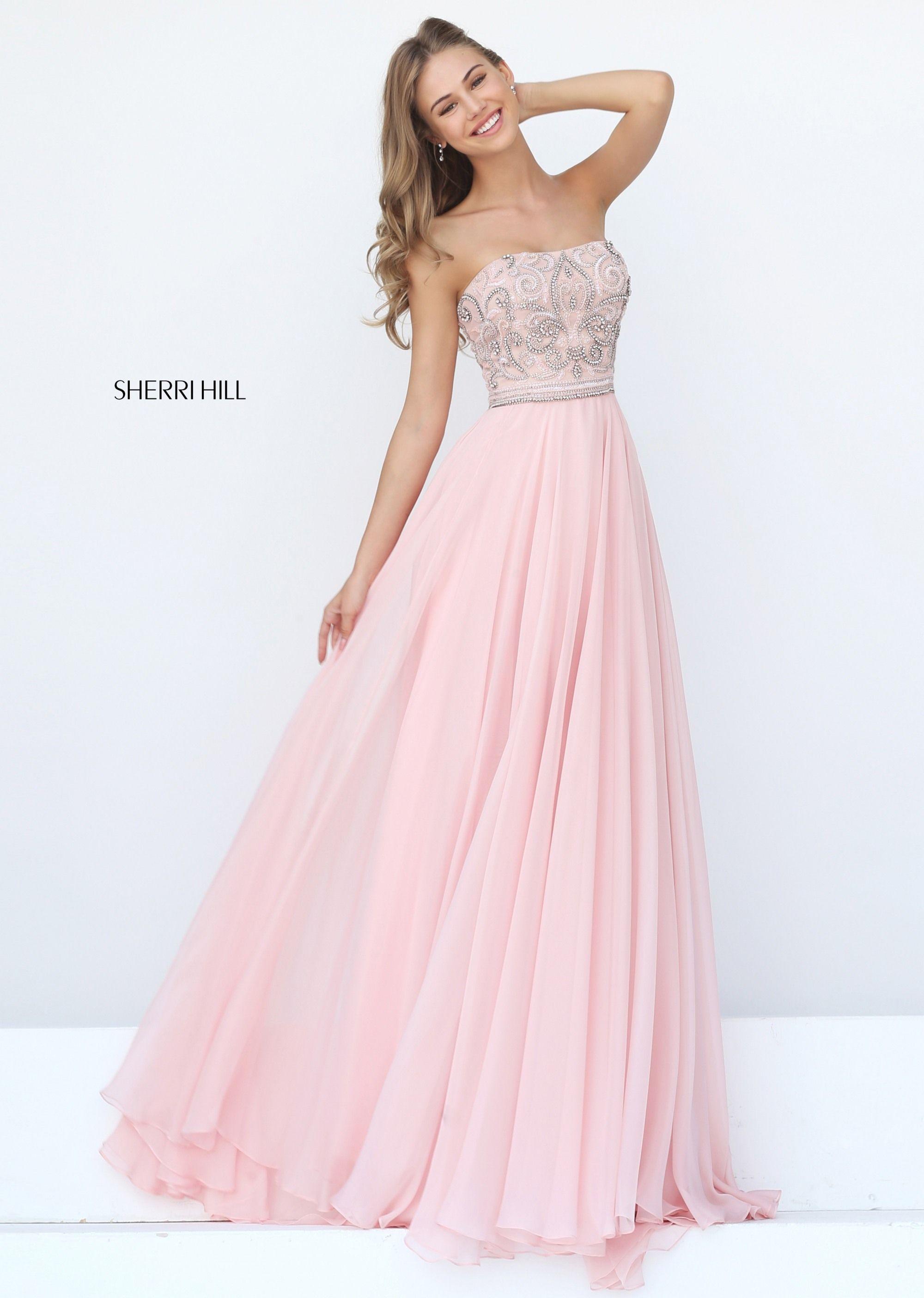 0c65160ff Vestido Rosa Palo · Sherri Hill Style 11179 15 Vestidos