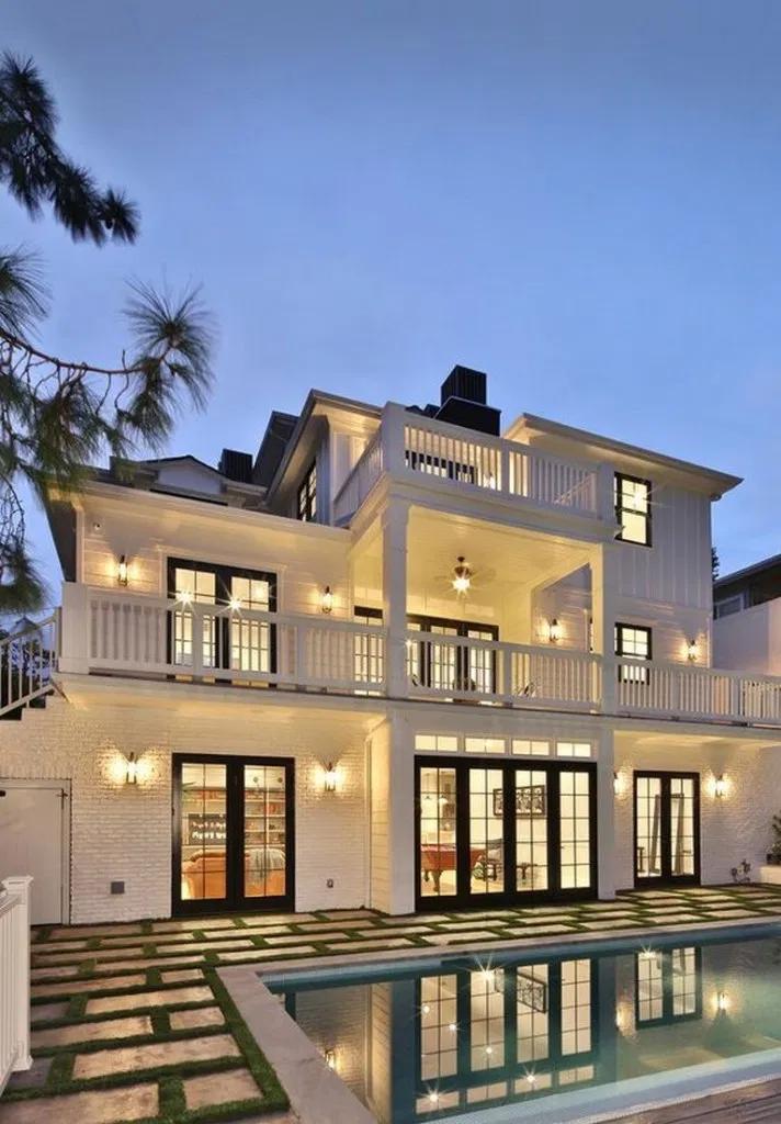 15 Popular Dream House Design For Your Inspiration Housedesign Dreamhouse Homedecor Web Luxury Homes Exterior Luxury Homes Dream Houses French Style Homes