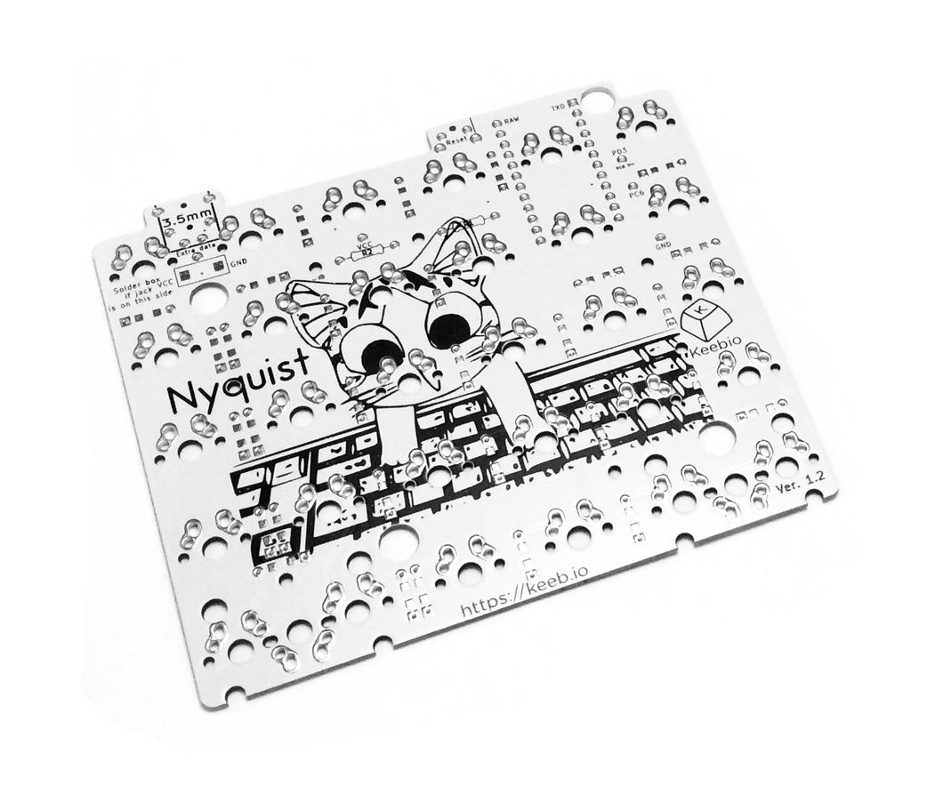 Nyquist Keyboard PCBs - 60% Split Ortholinear | Keyboards | Keyboard