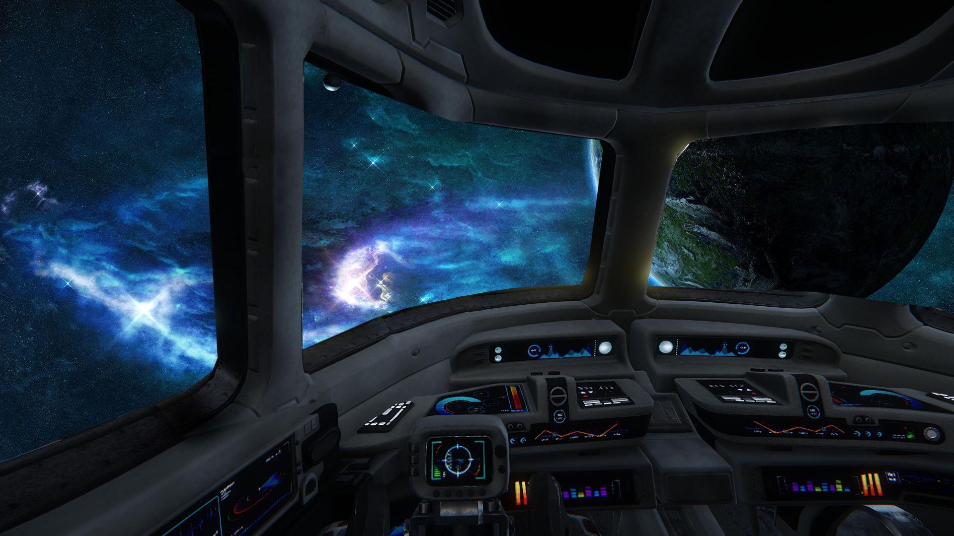 значок внутри космического корабля картинки сложнее