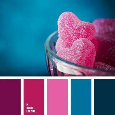 jewel tone color palette colour color schemes pink. Black Bedroom Furniture Sets. Home Design Ideas