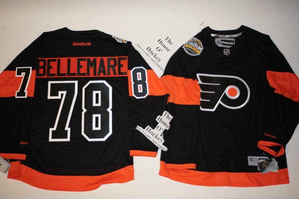 Bellemare Philadelphia Flyers Reebok 2017 Stadium Series Premier Jersey  Medium  Reebok  PhiladelphiaFlyers 47d27416e