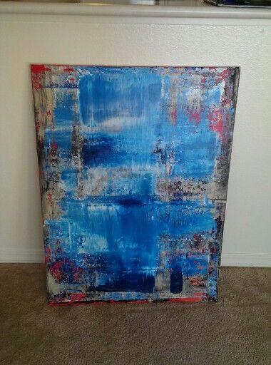 30x40 Modern Abstract Acrylic.