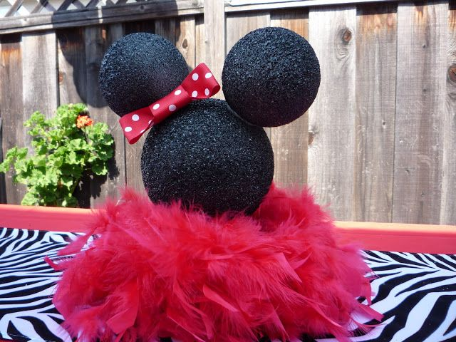 Minnie Mouse Baby Shower Decoration Ideas We Added Balloons In The