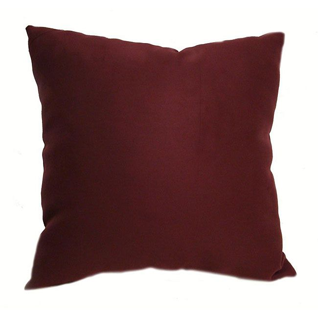 Throw Pillows For Burgundy Couch : Ultrasoft 16-inch Burgundy Throw Pillows (Set of 2) Throw pillow sets, Throw pillows and Pillows