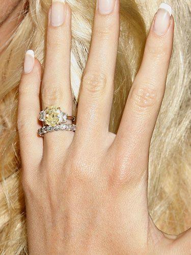 A List Bling Celebrity Engagement Rings Celebrity Wedding