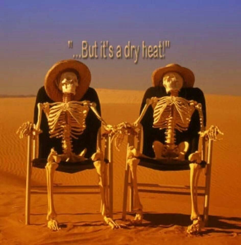 Dry Heat With Images Hot Weather Humor Arizona Humor Weather Memes