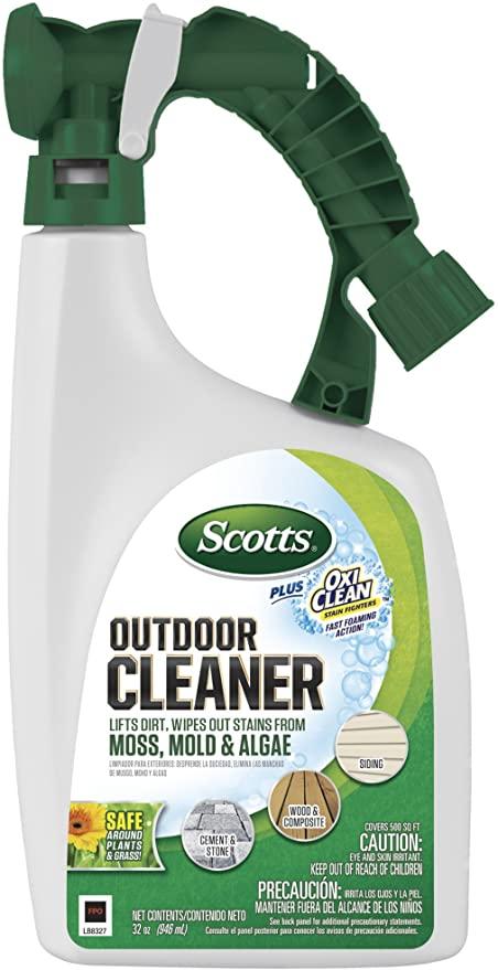 Amazonsmile Scotts Outdoor Cleaner Plus Oxiclean Ready To Spray 32 Oz Garden Outdoor