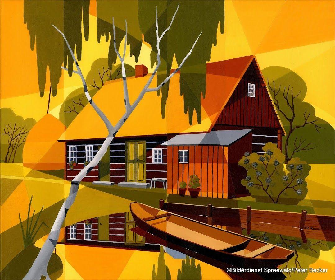 Haus am Lehder Fließ im #Spreewald