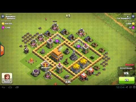 tips for clash of clans layout