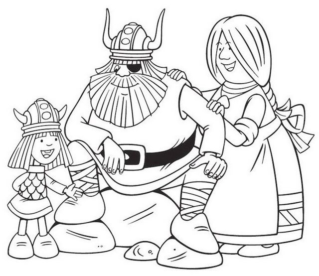 Vicky The Viking Coloring Pages Set With Your Favorite Characters From Vicky The Viking When Kids Watch Vicky The Vikin Coloring Pages Vikings Coloring Books