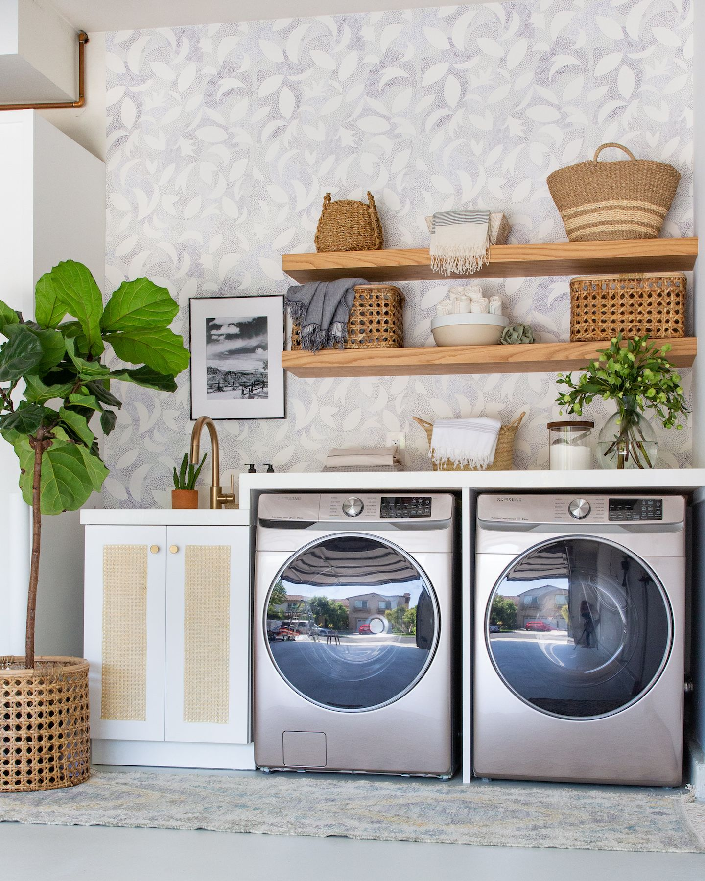 5 Design Ideas To Steal From A Gorgeous Garage Turned Laundry Room