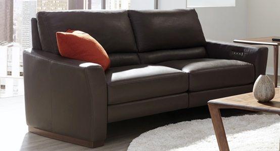 Beau American Leather Bryant Motion Sofa | Ambiente Modern Furniture