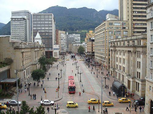 Centro de #Bogotá #Colombia