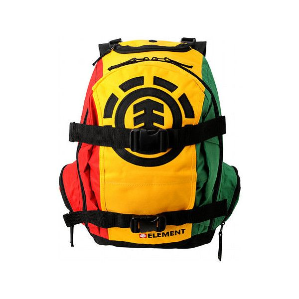 5d43271826c6 Element Mohave Rasta Backpack   PDP ( 45) found on Polyvore ...