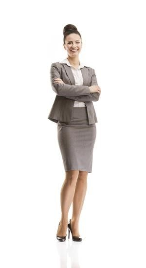5ecd523359e0 Women s Business Professional Attire. Alternative to a black suit while  still being professional. Skirt should always be just above the knee.