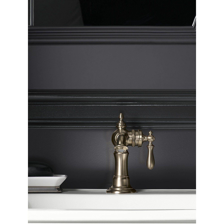 KOHLER K-72762-9M-BV Artifacts Single-handle bathroom sink faucet ...