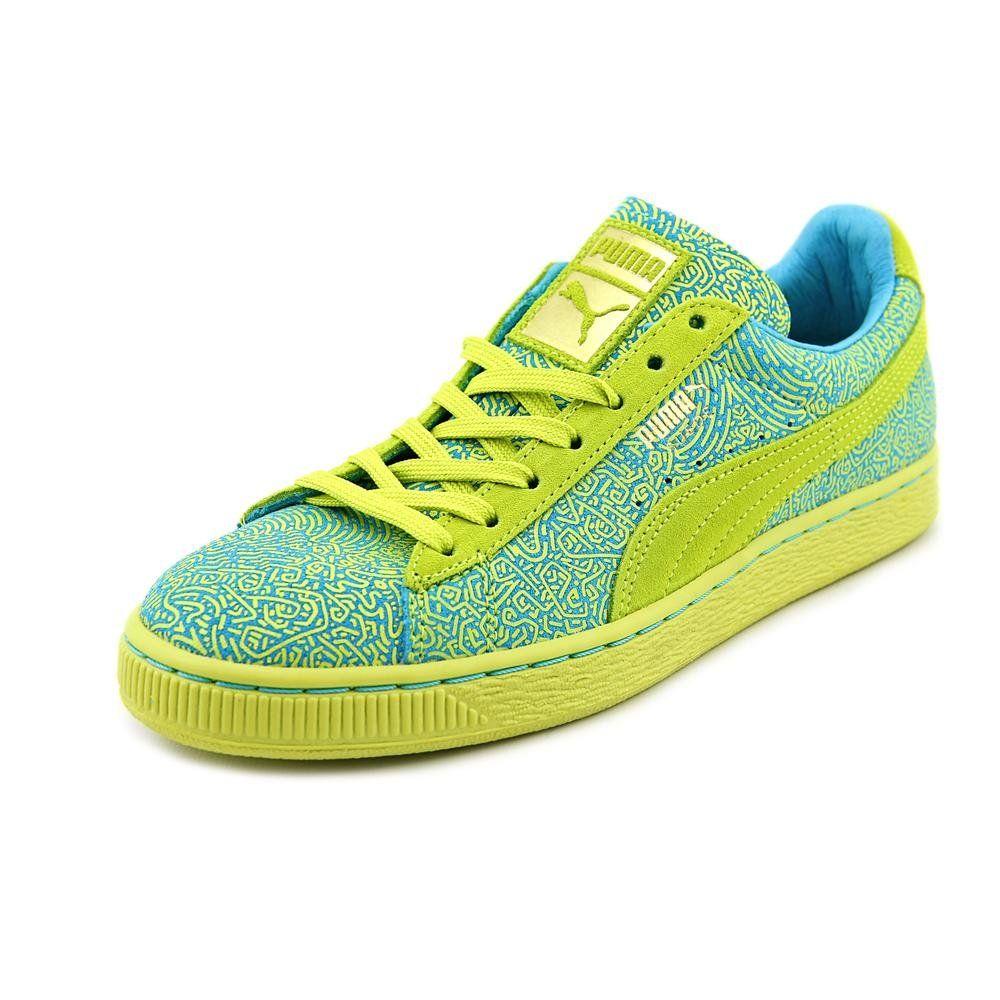 PUMA Womens Suede Classic Sneaker Sulphur Spring Blue 8 M US
