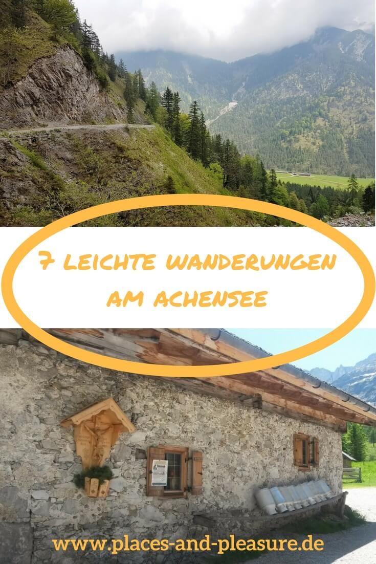 7 caminatas fáciles en el lago Achensee que definitivamente deberías hacer