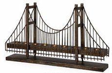 Bridge candle holder
