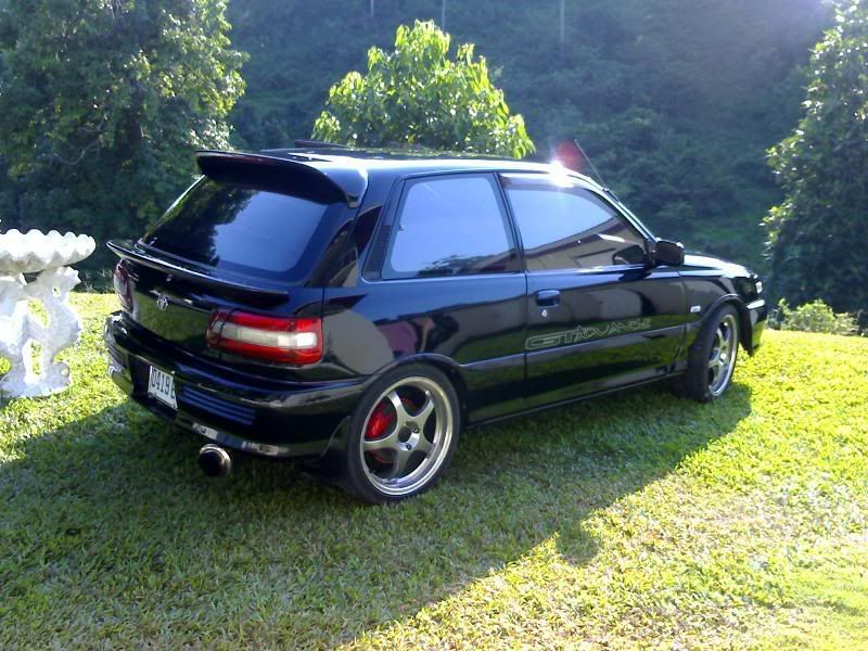TOYOTA STARLET GT TURBO EP82 | old-school cars bori\'s love ...