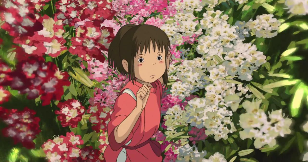 Spirited Away (2001, Hayao Miyazaki) / Cinematography by