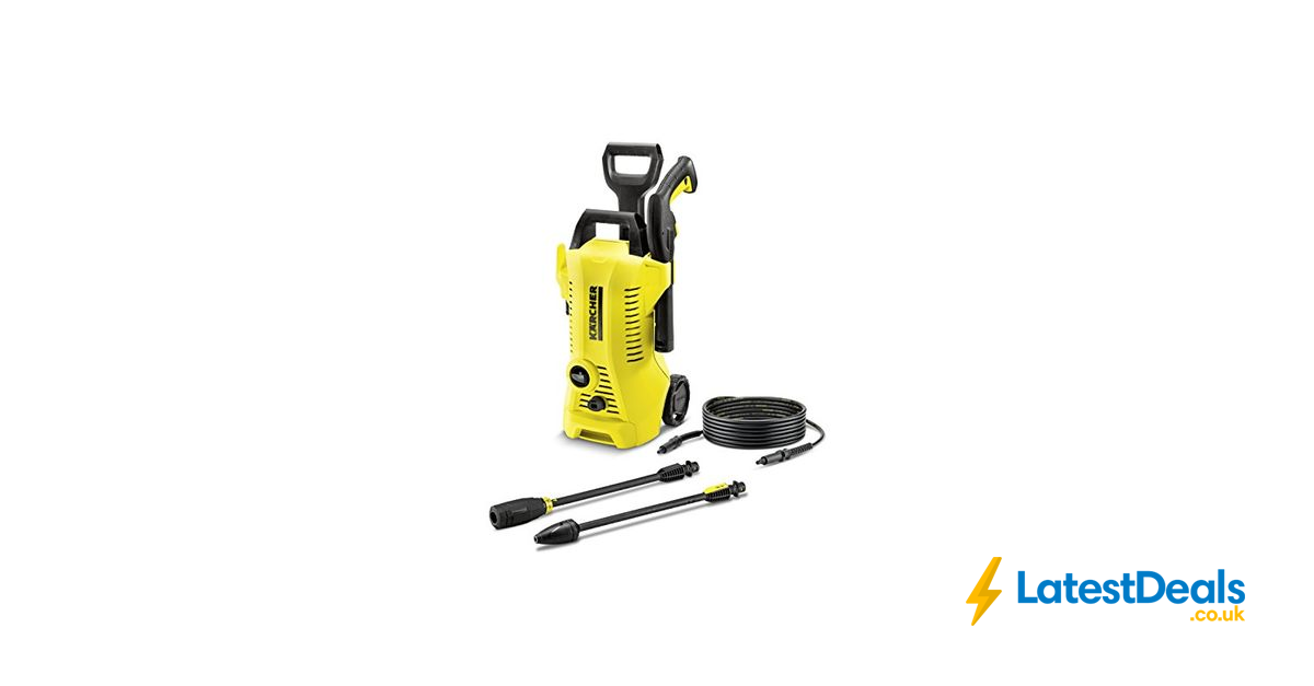 Today Only Karcher K2 Full Control Pressure Washer 79 99 At Amazon Pressure Washer Washer Pressure