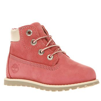 Timberland Pink Pokey Pine Lace Girls Toddler Its cute, its pink and its an  A