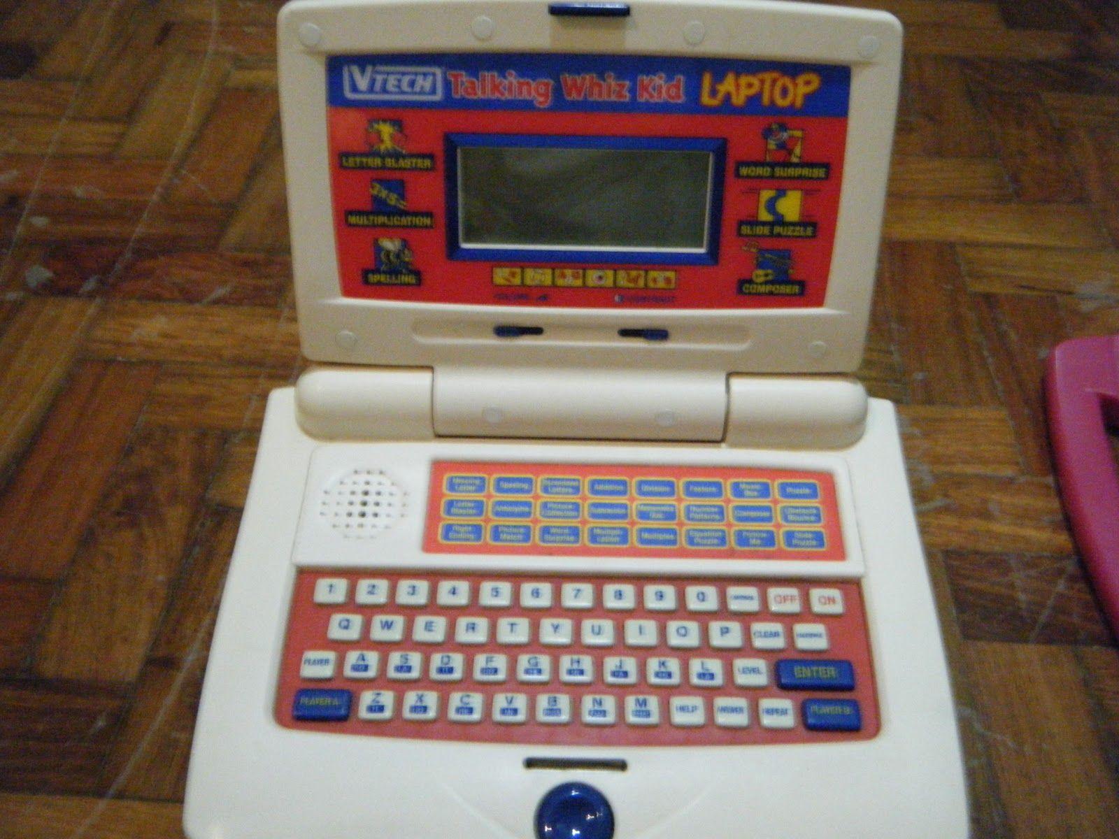 Talking WHIZ KID Laptop by Vtech