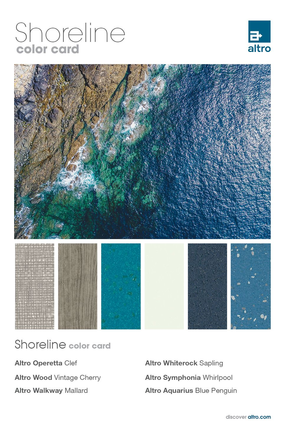 Pin by Altro Americas on Color cards Color card