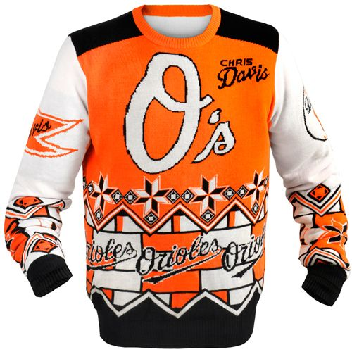 cb00c3090f38 Baltimore Orioles Player Sweater by Forever Collectibles - MLB.com Shop