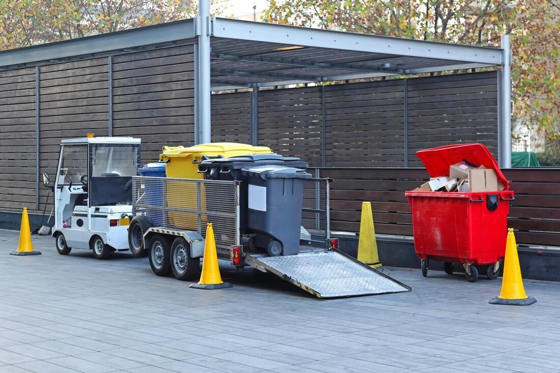 Junk Pick Up Dumpster Rental Recycling Design