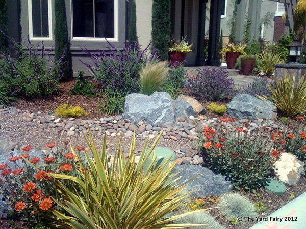 Landscaping Ideas Northern California : Landscape yard design garden ideas designs xeriscape