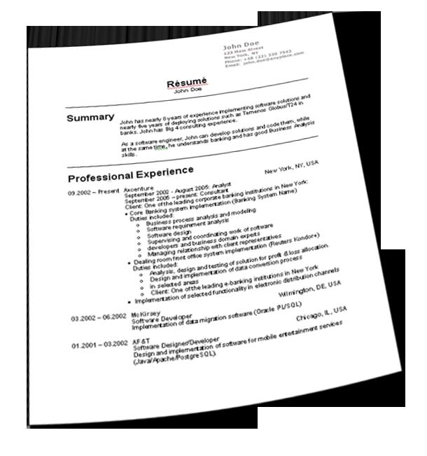 Informatica Resume: Como Hacer Un Resumen De Trabajo Tips Para Hacer Un