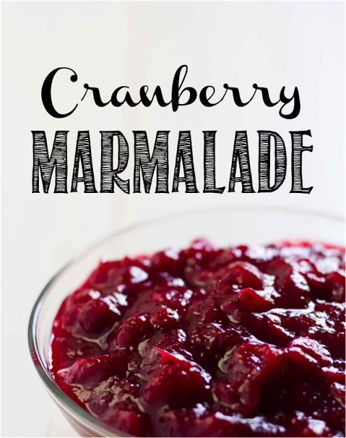 Cranberry marmalade! Can´t find fresh ones? Try this one out