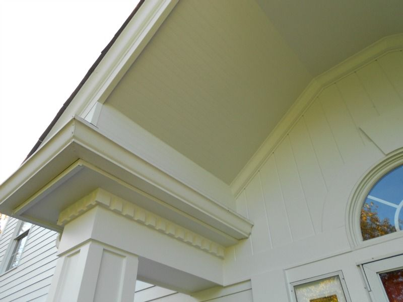 Hardie Beaded Soffit Panel Porch Ceiling Porch Ceiling